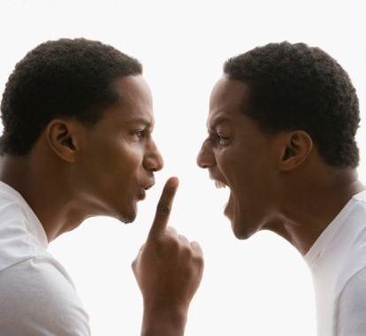 Black Men Arguing