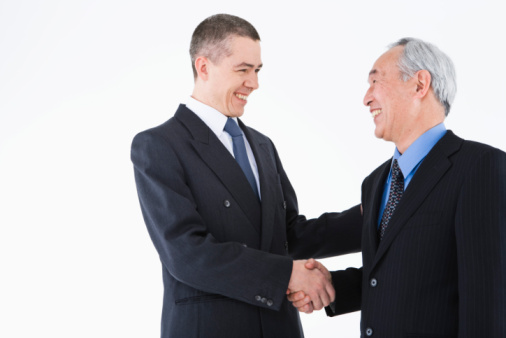 Business Hand Shakes