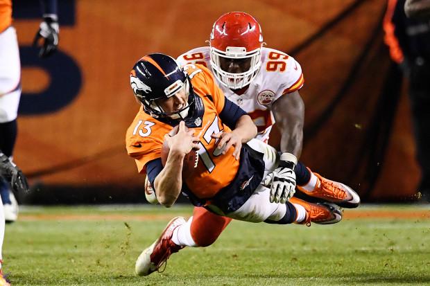 Denver Broncos Trevor Siemian