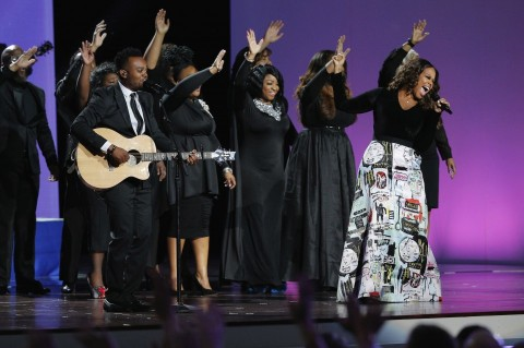 Travis Greene and Chrisette Michele Perform at 2017 Presidential Inauguration